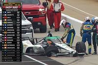 Alonso shunts in Indy 500 practice