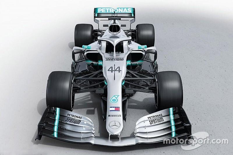 Gallery: The new Mercedes W10 Formula 1 car