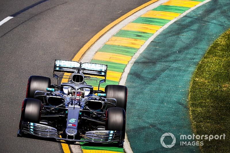 Mercedes logra el doblete en la segunda práctica en Australia