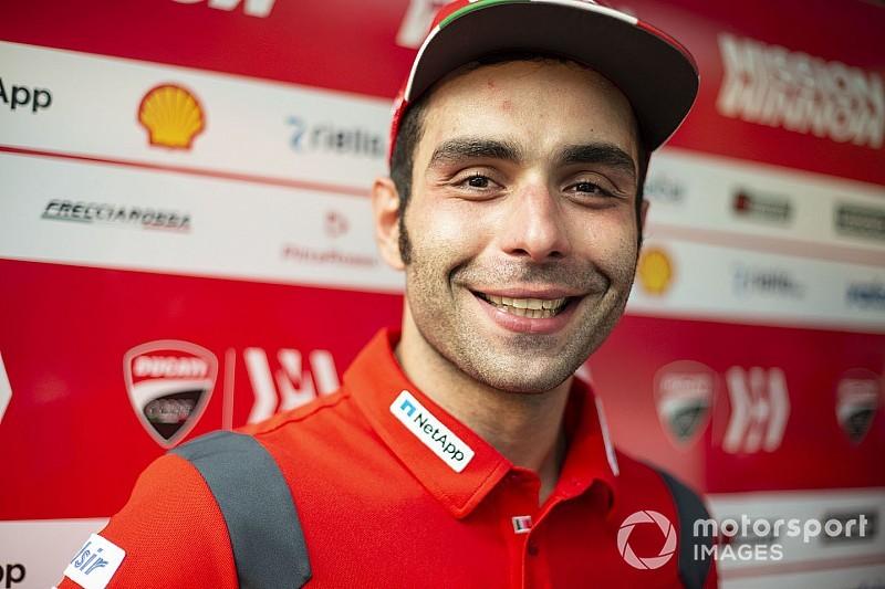 Petrucci: Si je veux rester chez Ducati, je dois garder ce niveau