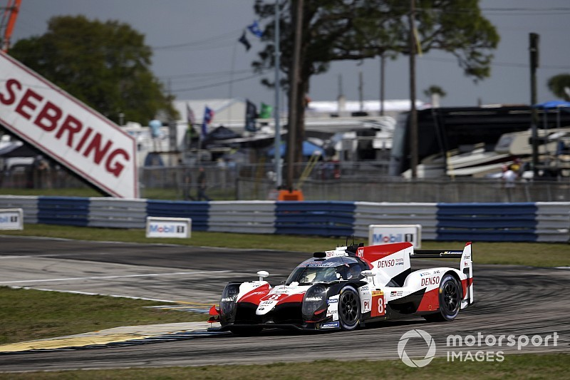 Sebring WEC: Toyota under lap record again in FP1