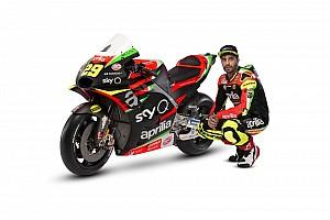 Aprilia 2019 MotoGP renk düzenini tanıttı
