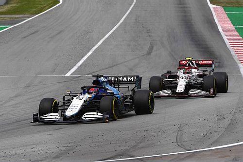 """Russell: """"Williams aracı ilk kez bu kadar iyi hissettirdi"""""""