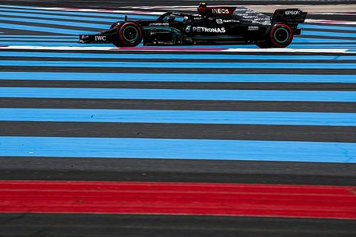 Bottas unsure if improvement coming from F1 chassis change