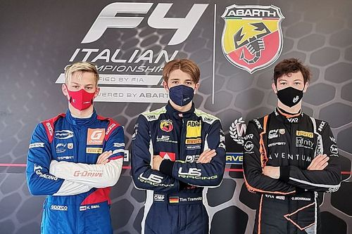 F4, Paul Ricard: pole per Smal, Bearman e Tamnitz