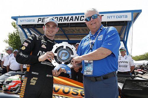 Detroit IndyCar: O'Ward beats Rossi, Grosjean to Race 1 pole