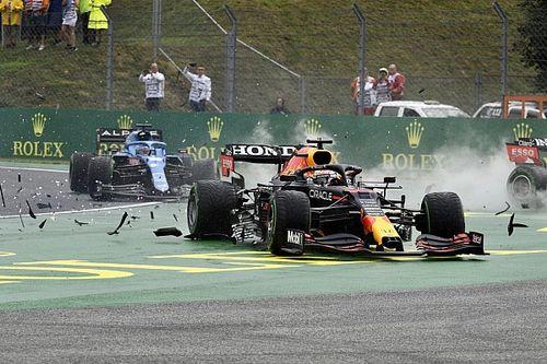 Las imágenes que revelan el verdadero daño al coche de Verstappen