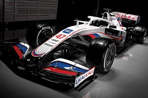 """فريق هاس يكشف كسوته الجديدة لسيارة """"في.اف21"""""""