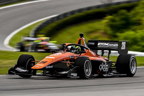 British F3 champion Lundqvist wins as Indy Lights returns from hiatus