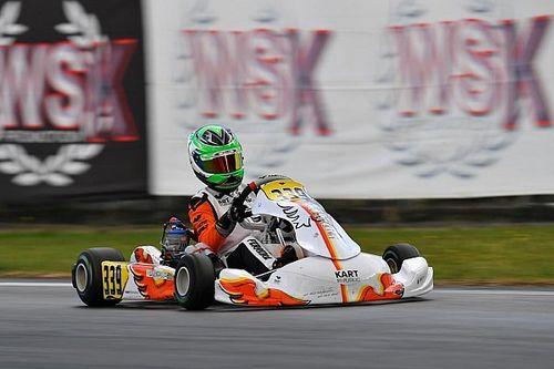 Matheus Ferreira conquista pole no WSK Euro Series em Lonato e vence bateria na categoria OK Júnior