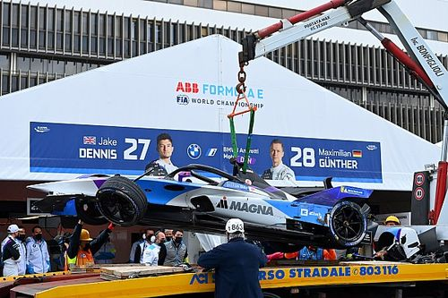 Dennis blames lack of yellow flags for Rome practice pile-up