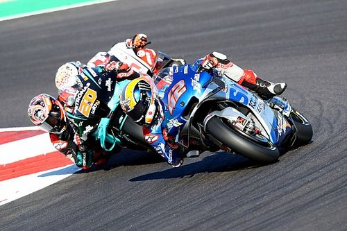 Rins assumed he'd lost third in standings after Algarve slump