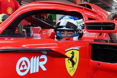 Giuliano Alesi et Ferrari, c'est bien fini