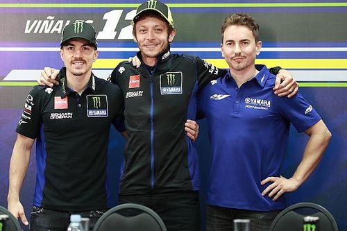Rossi: Yamaha tal vez deba hacer cinco motos en 2021