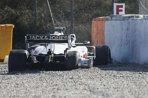 Magnussen: sulla Haas si è rotta la sospensione posteriore