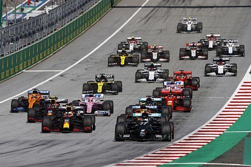 Положение в общем зачете Формулы 1 после Гран При Австрии