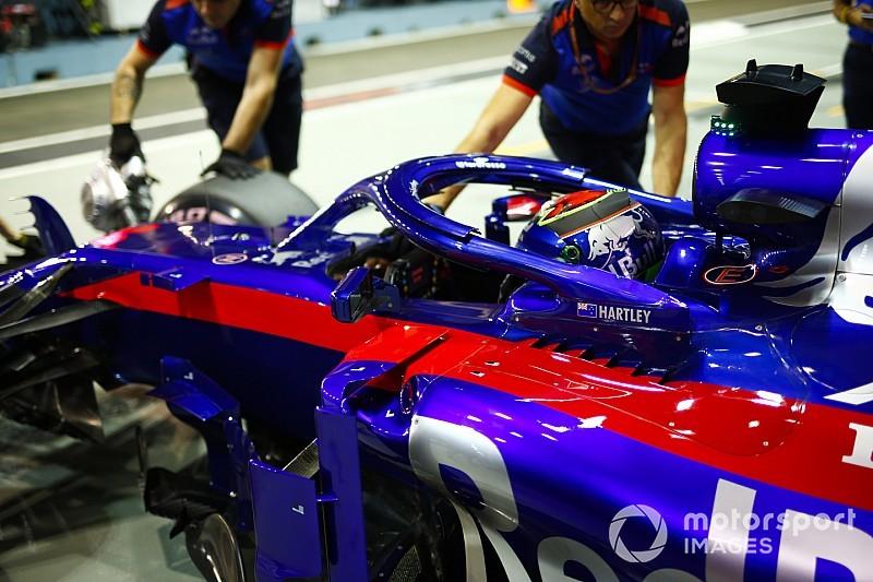 В Toro Rosso відклали оновлення боліда до Гран Прі США