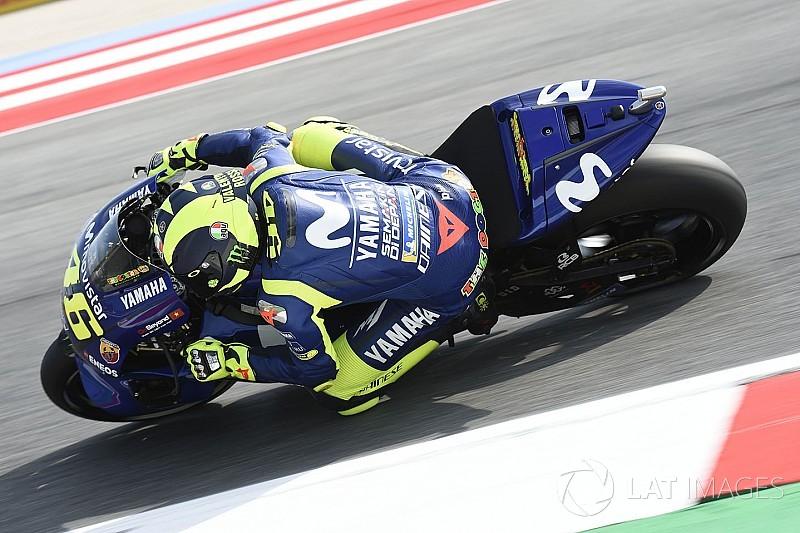 """Rossi: """"El neumático duro que nos fue bien en el test, ahora no sirve"""""""