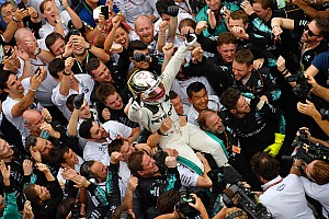 Wolff: não teríamos cinco títulos se não fosse por Hamilton
