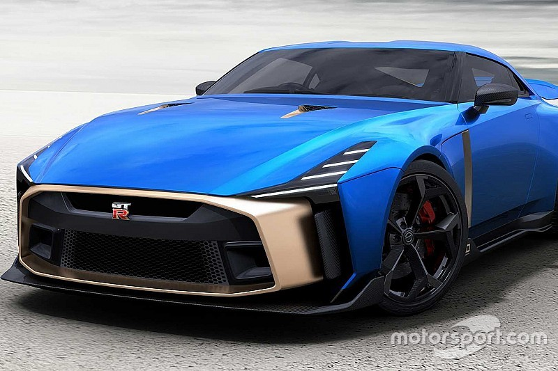 Nissan представив плани виробництва суперкара GT-R50 вартістю 1,12 мільйона