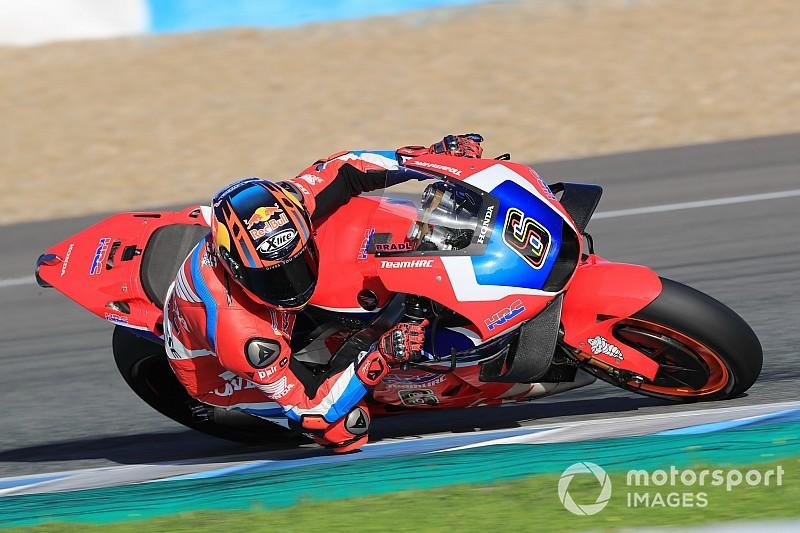 Jelang tes Sepang, Bradl uji coba di Jerez