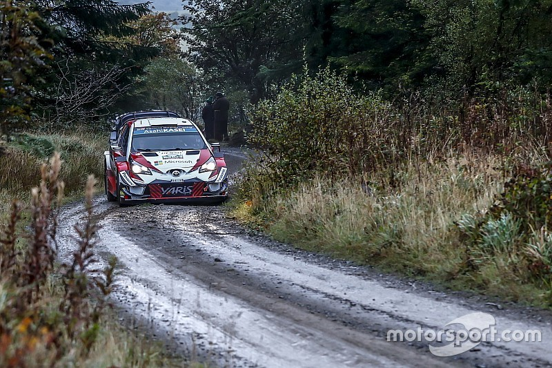 Wales WRC: Title contender Tanak storms into lead