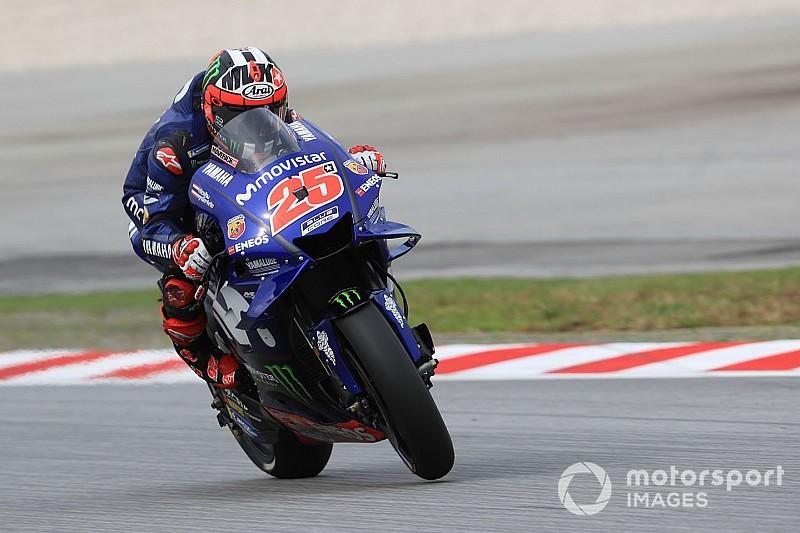FP3 MotoGP Malaysia: Vinales ungguli Marquez 0,026 detik