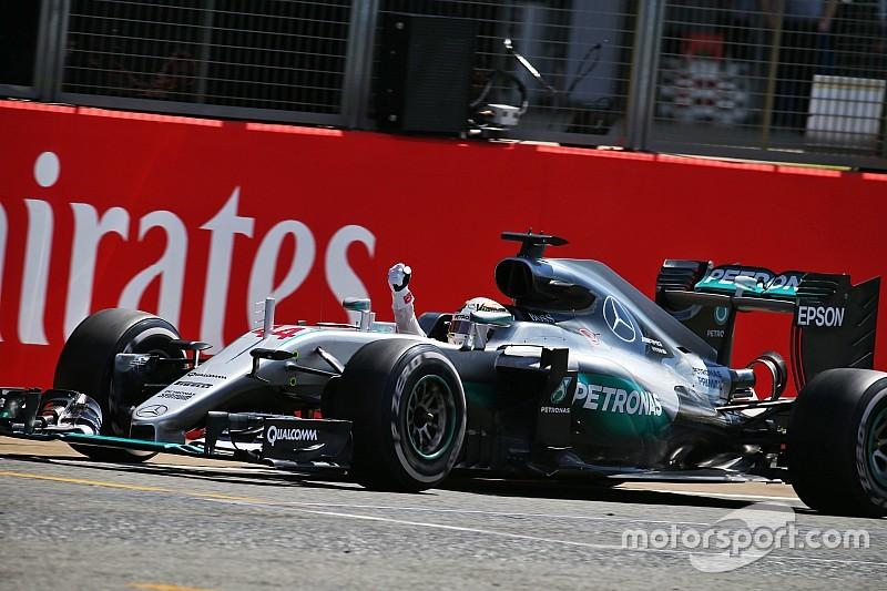 """Hammertime"" statt ""Teatime"": Lewis Hamilton siegt in Silverstone"