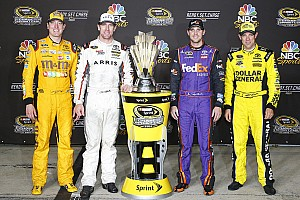 NASCAR Cup Interview Busch on teammate concerns: