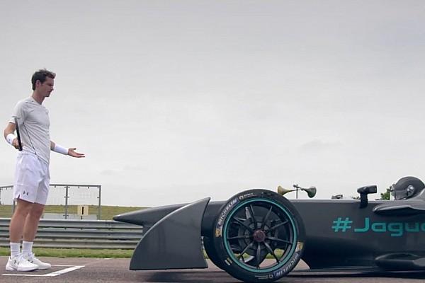Formula E Video, l'inedita Jaguar elettrica si dà al… Tennis!
