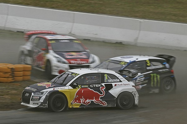 WK Rallycross Raceverslag WRX Hockenheim: Ekström pakt derde zege op rij
