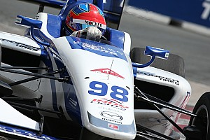 Indy Lights Qualifying report Mid-Ohio Indy Lights: Herta takes sixth pole of season