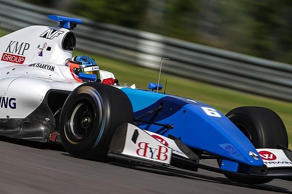 Формула V8 3.5 Отчет о гонке Исаакян одержал вторую в сезоне победу в Формуле V8 3.5