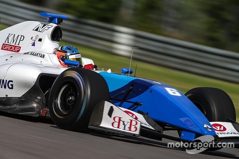 Исаакян одержал вторую в сезоне победу в Формуле V8 3.5