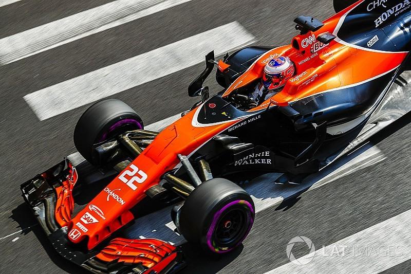 Button reconoce que le fue difícil ir al límite con el McLaren