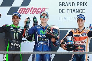 MotoGP Race report Le Mans MotoGP: Vinales wins as Rossi crashes on final lap