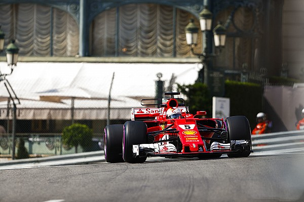 F1 Reporte de prácticas Vettel y Ferrari lideran en Mónaco a ritmo de récord