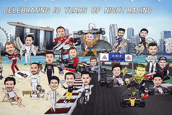 Die schönsten Fotos vom F1-GP Singapur: Donnerstag