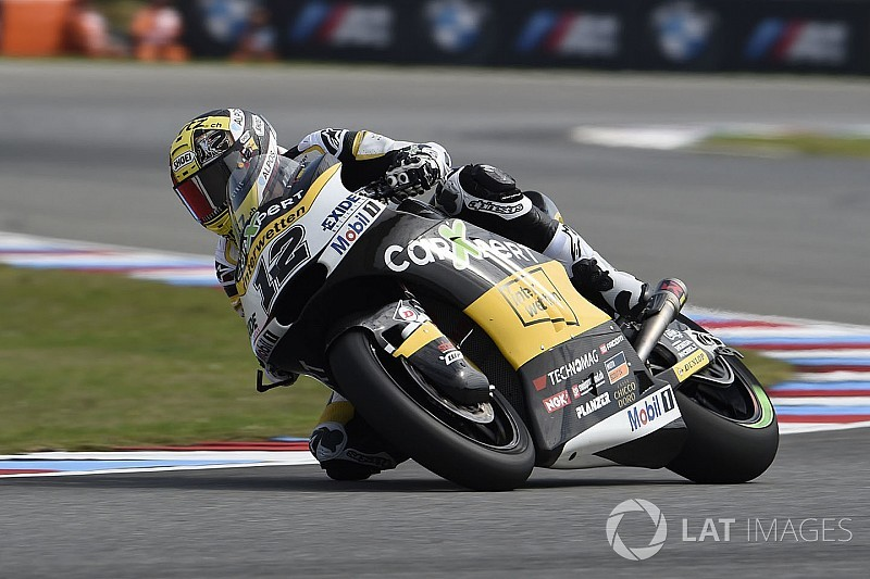 【Moto2チェコ】決勝:激変の天候を味方に、ルティ大逆転で今季初優勝