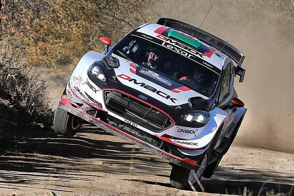 WRC Leg report Argentina WRC: Evans stays ahead despite tyre woes