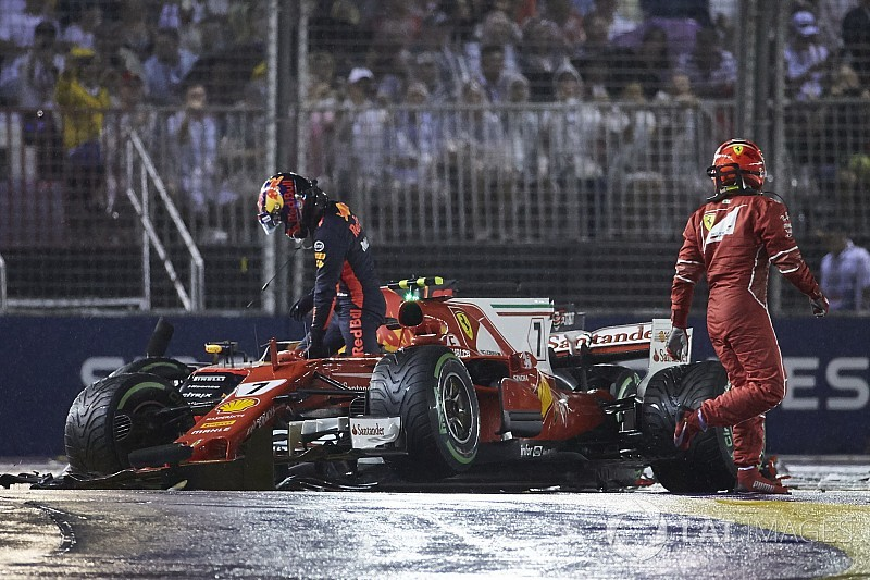 Vettel n'a pas présenté d'excuses, selon Verstappen