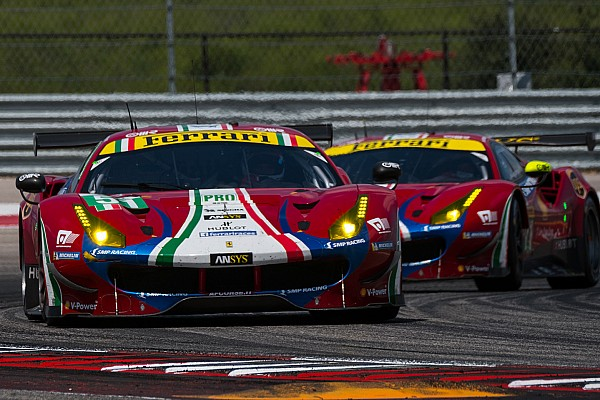 Ferrari retains unchanged WEC line-up