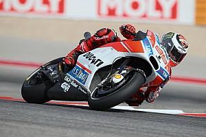 """MotoGP Noticias de última hora Lorenzo: """"Ha ido bien, estoy más cerca de las otras Ducati"""""""