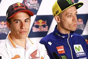 Rossi a Marquez: