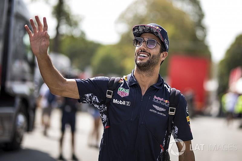 リカルド、イタリアGPでペナルティ消化か? シンガポールGPに照準
