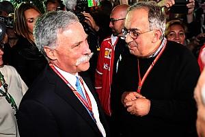 Carey répond à Ferrari: La F1 ne va pas devenir de la NASCAR