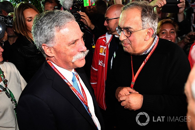 "Marchionne: ""Possibile un campionato alternativo alla F.1"""