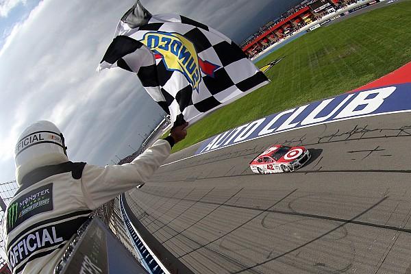 NASCAR Cup Reporte de la carrera Kyle Larson gana en la Auto Club 400; Suárez se mete al Top 10