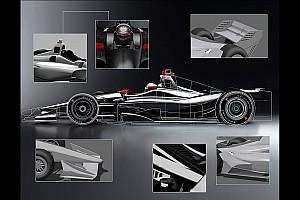 IndyCar Actualités L'IndyCar dévoile un rendu de sa monoplace 2018