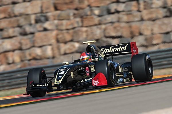 Фиттипальди победил во второй гонке в Арагоне, Оруджев третий